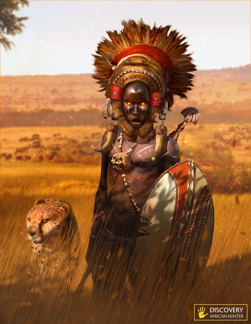 Image result for African warriors concept art | I D E A S ...