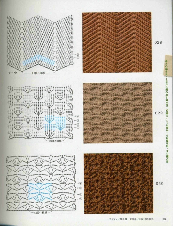 Segundo punto | crochete | Pinterest | Puntos, Ganchillo y Puntadas
