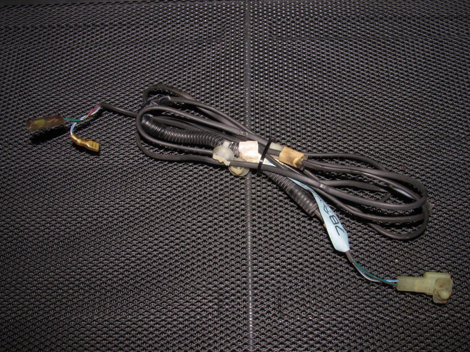 88 89 honda crx oem headliner rear map light wiring harness [ 1600 x 1200 Pixel ]