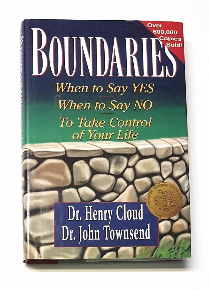 BOUNDARIES When to Say YES or NO Take Control of Your Life (Christian) Hardcover | eBay