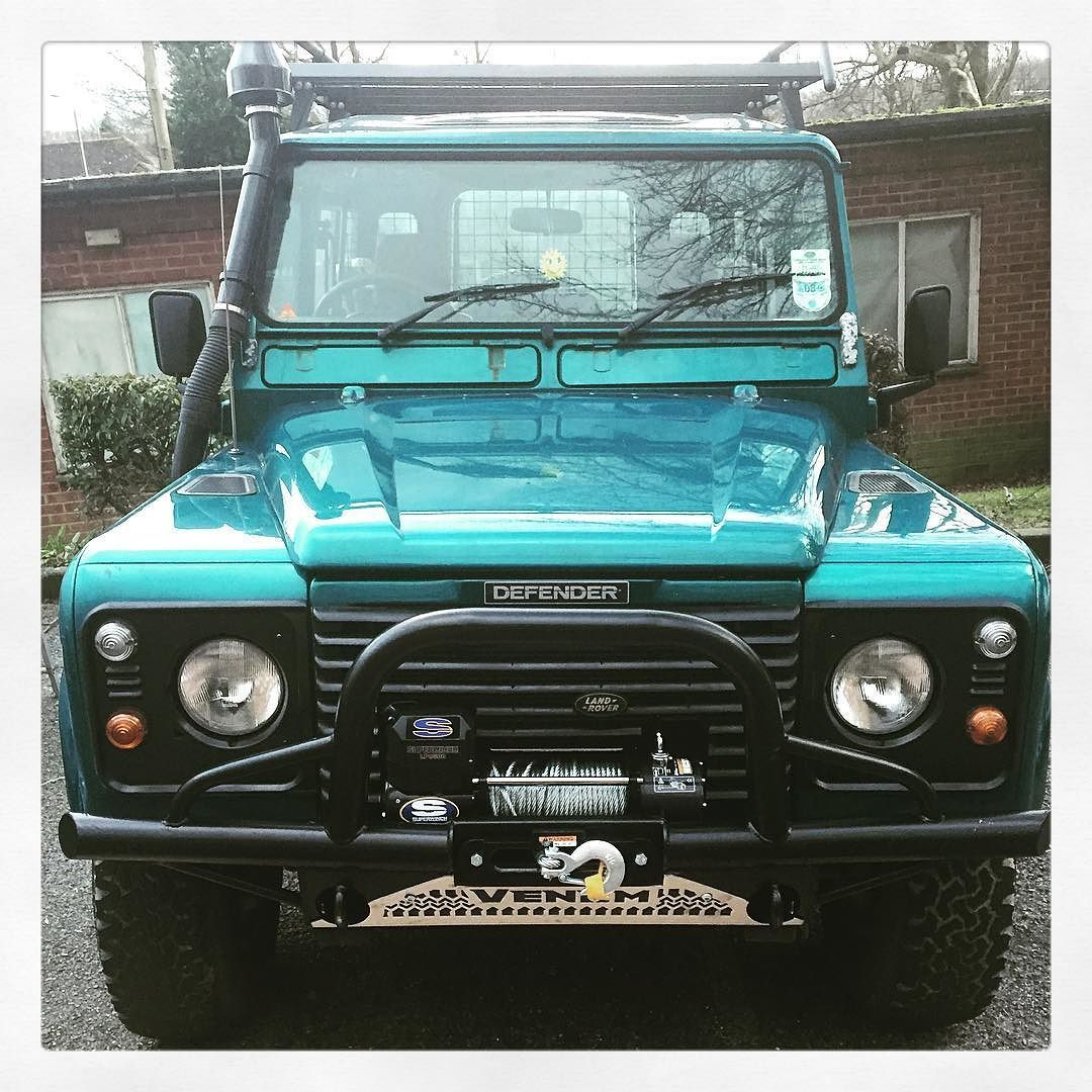 My new car.. #landrover #landroverdefender by greenbusman My new car.. #landrover #landroverdefender