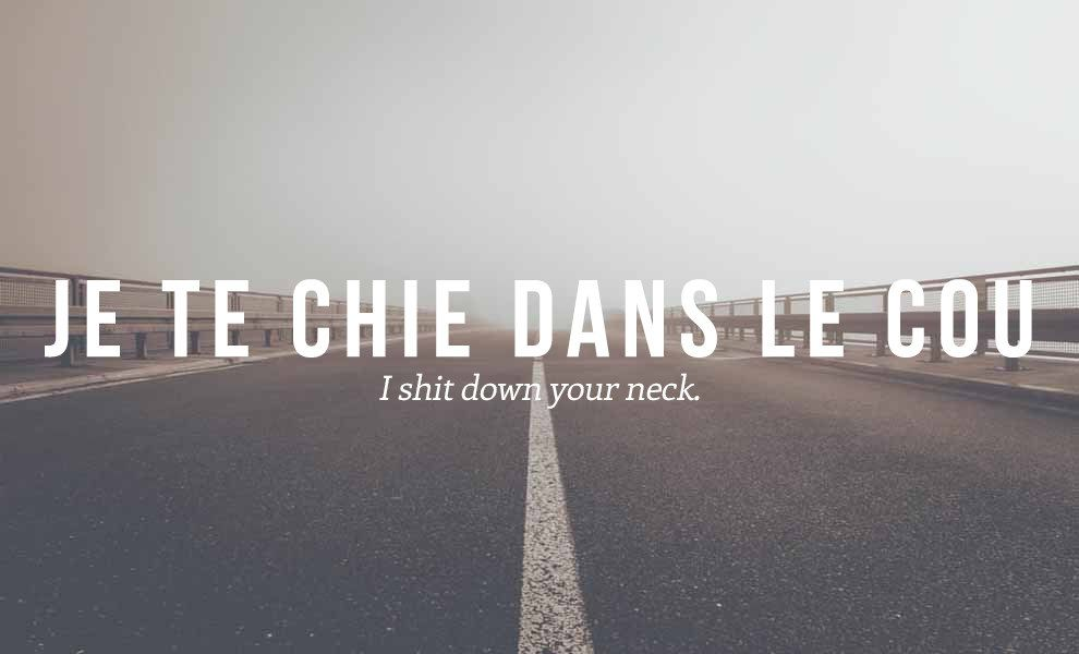 22 Formidable French Insults We Need In English French Swear Words French Quotes Funny French