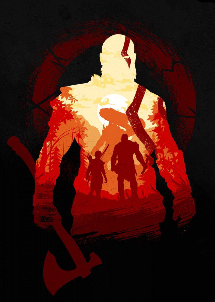 'Adventure with the Gods' Metal Poster - Hyper Twenty | Displate