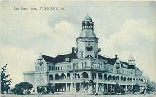 Georgia Ga Fitzgerald Lee Grant Hotel 1909 Postcard