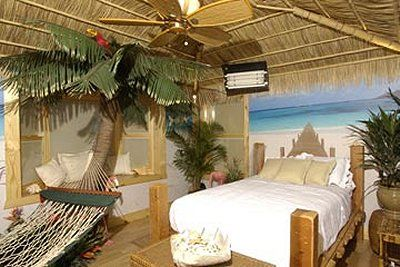 Tropical Lamps For Bedroom Tropical Oasis Theme Bedrooms
