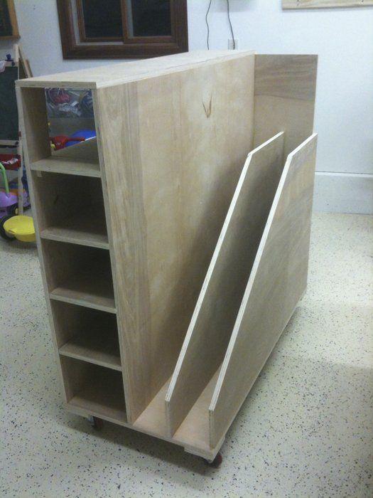 My Cutoffs Sheets Cart Lumber Storage Workshop Storage Storage