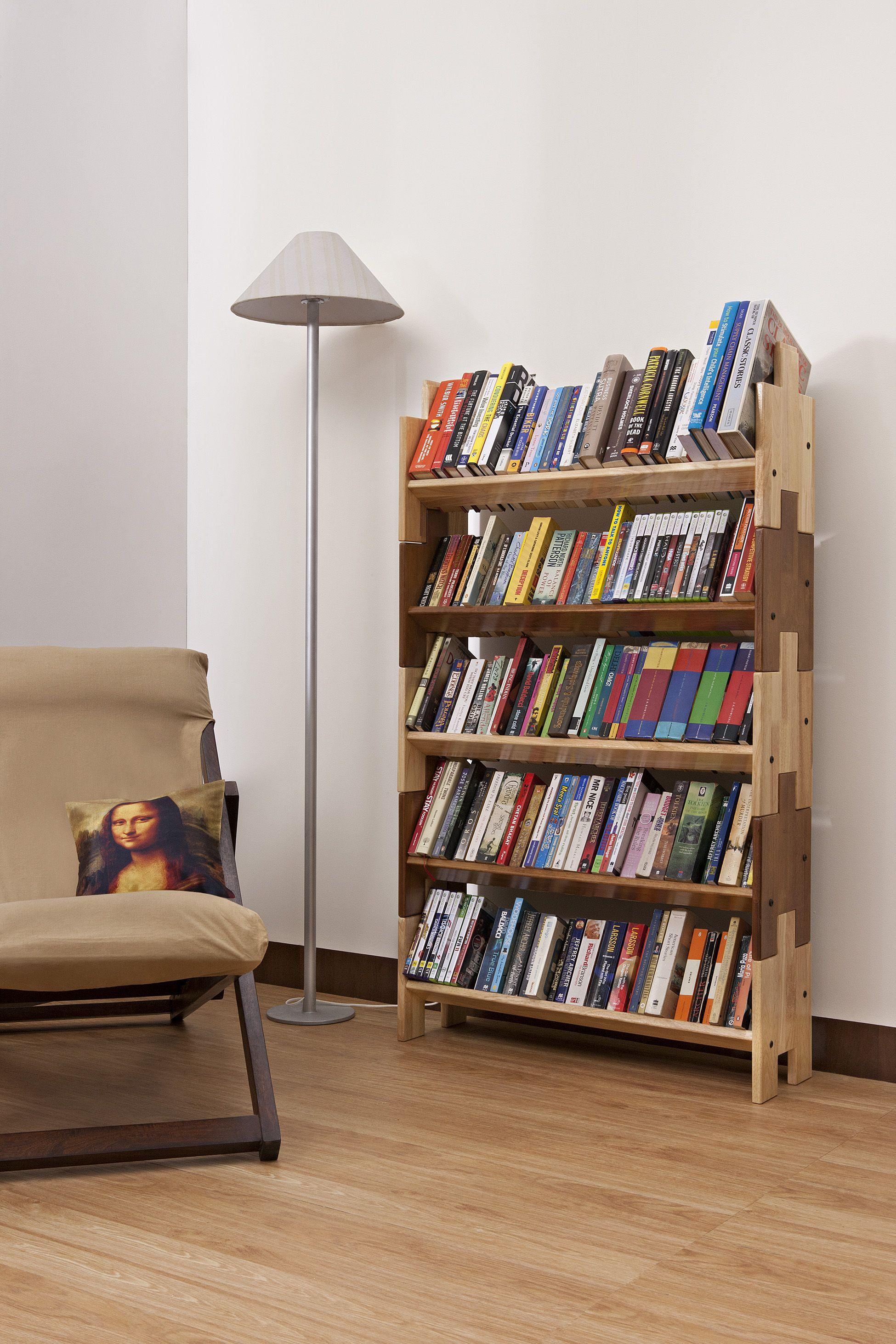 Dewey Book Shelf / Modular Book Shelf : http://www.urbanladder.