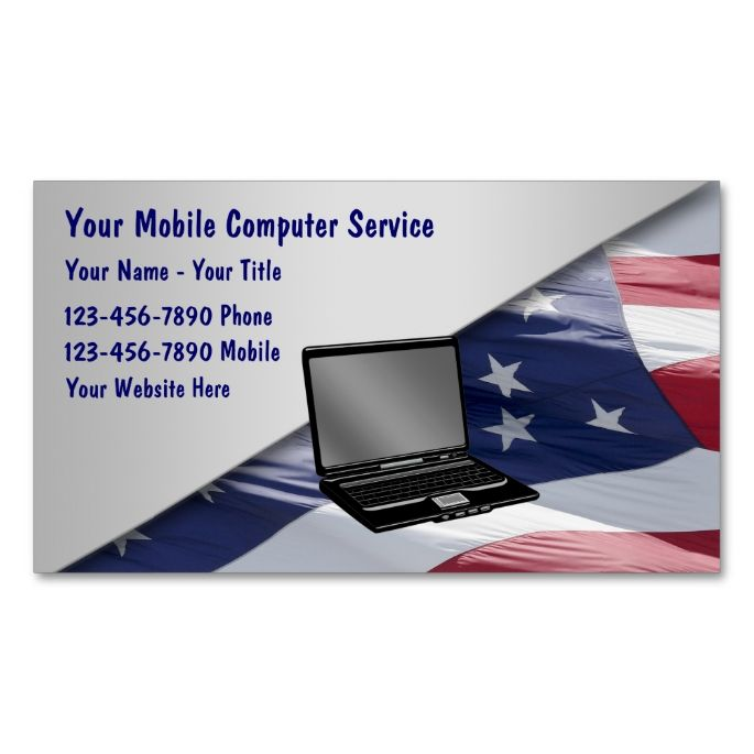 Mobile Computer Repair Business Cards Zazzle Com Computer Repair Business Mobile Computer Repair Computer Repair