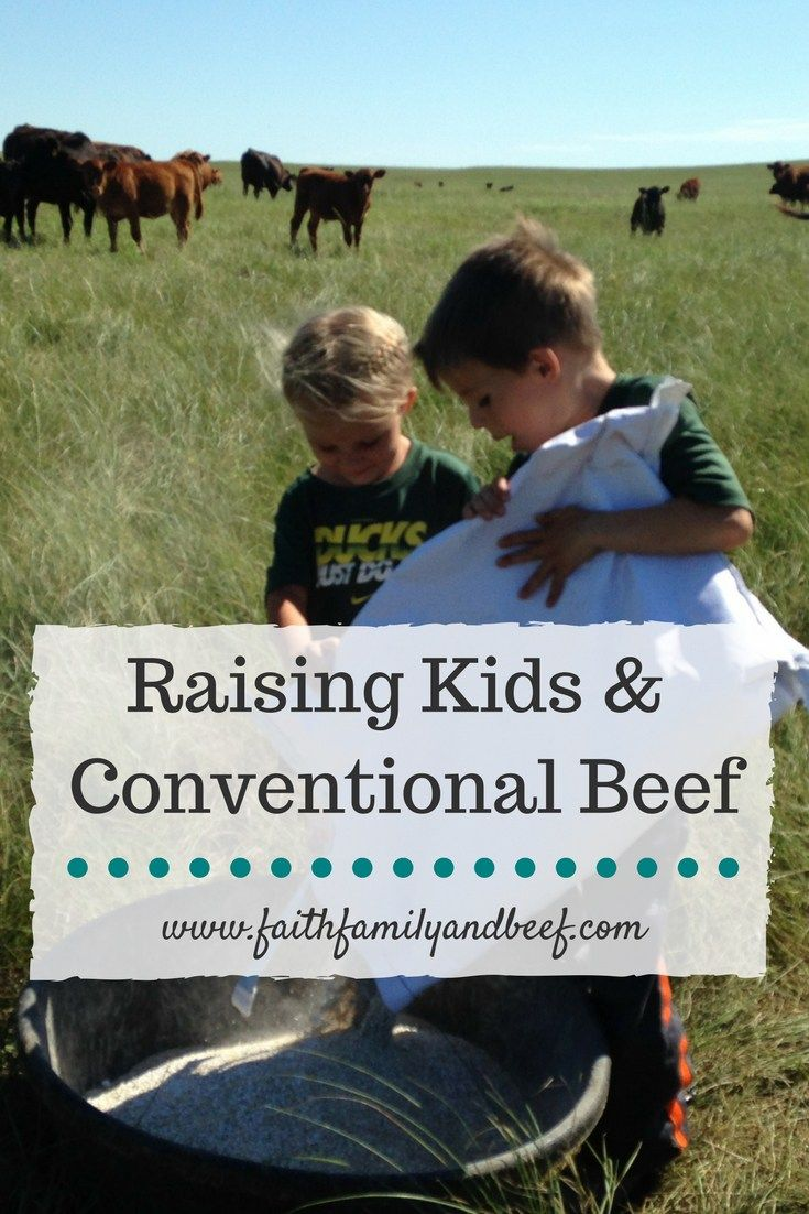 Just because we use different methods does not mean that one of us is right and the other is wrong. We are all doing our best to do what is best by our cattle and consumers – and that is not wrong. This same principle is true of raising kids.