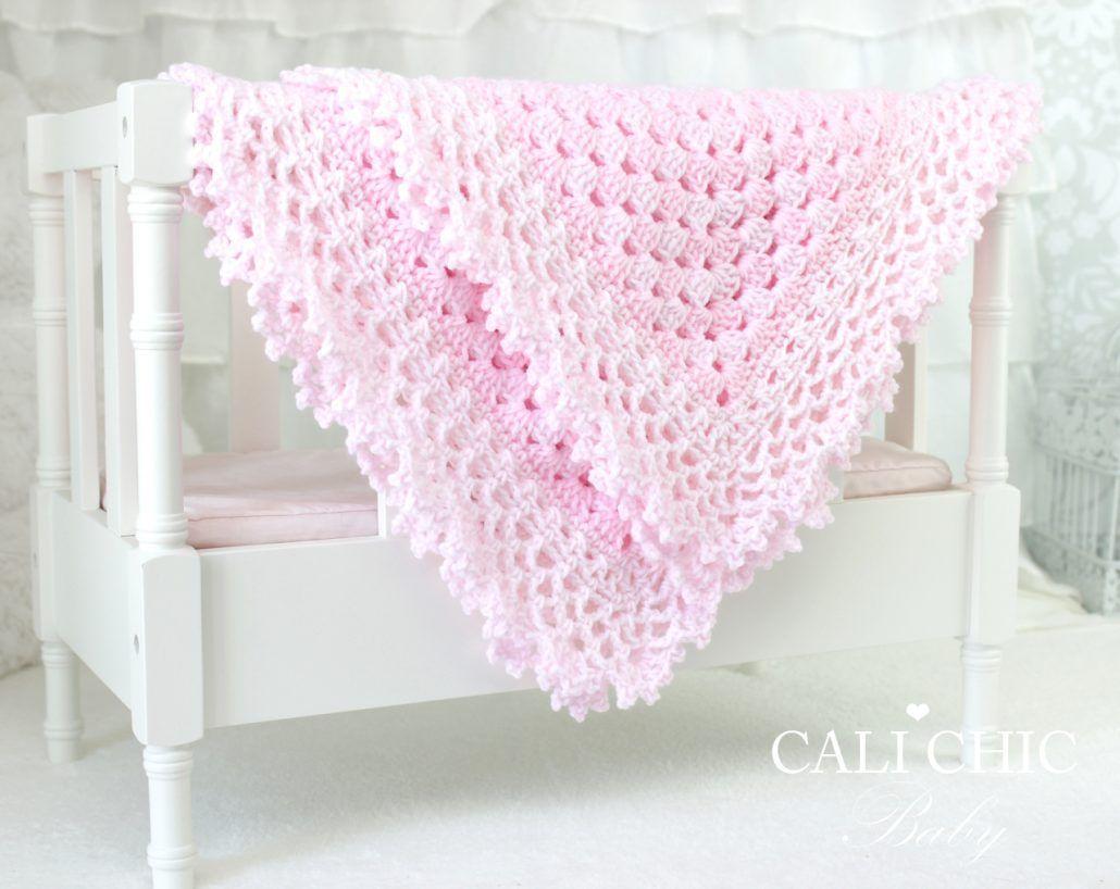 d3257c3591e84 Freesia<br>Crochet<br>Baby Blanket<br>Pattern 143 (pnk) | Baby ...