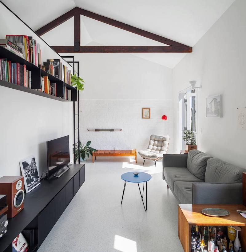 Small Apartment Gets Reorganized With Minimal Structural
