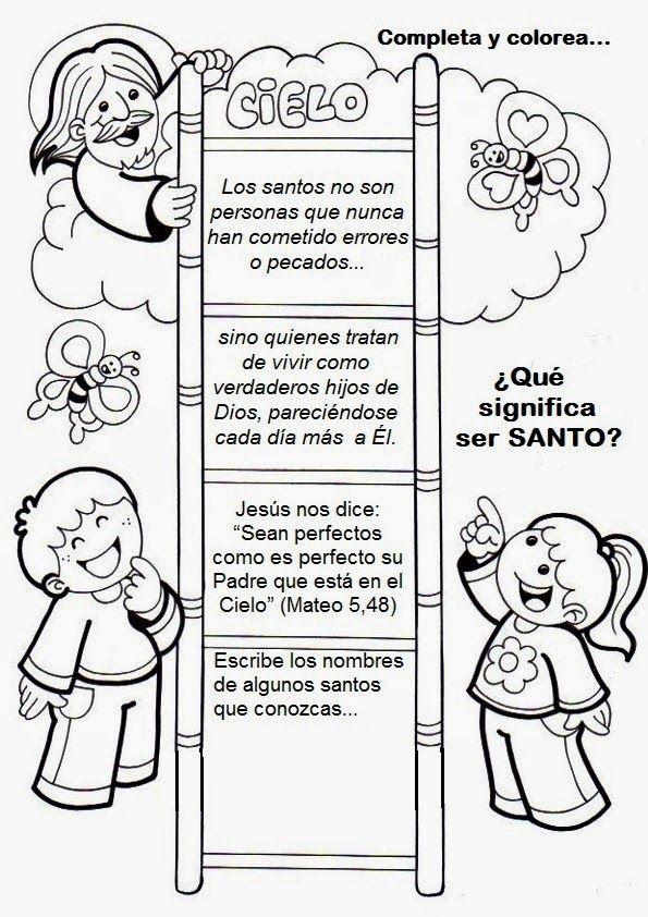 La Catequesis: Recursos Catequesis Ser Santo - Santidad | catequesi ...