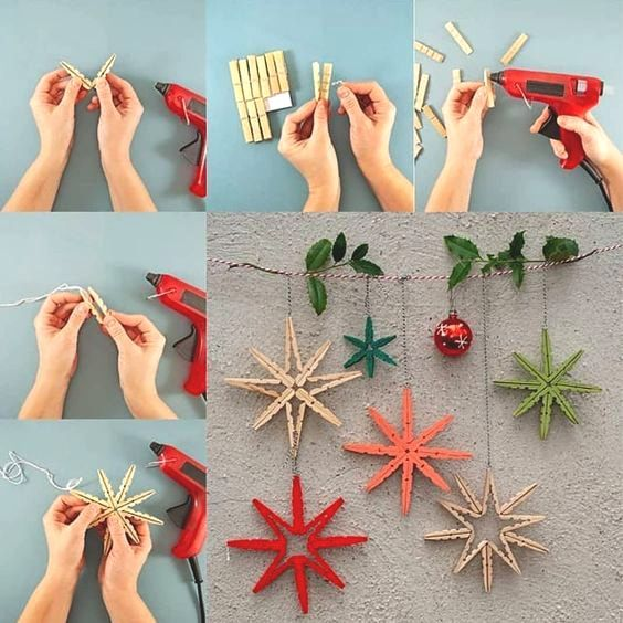 35 Adorable Christmas Craft Ideas That Bring The Holiday Spirit Into Your House | Ecemella #deconoelmaternelle