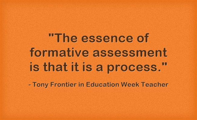 Response The \u0027Secret Sauce\u0027 of Formative Assessment Formative - formative assessment strategies