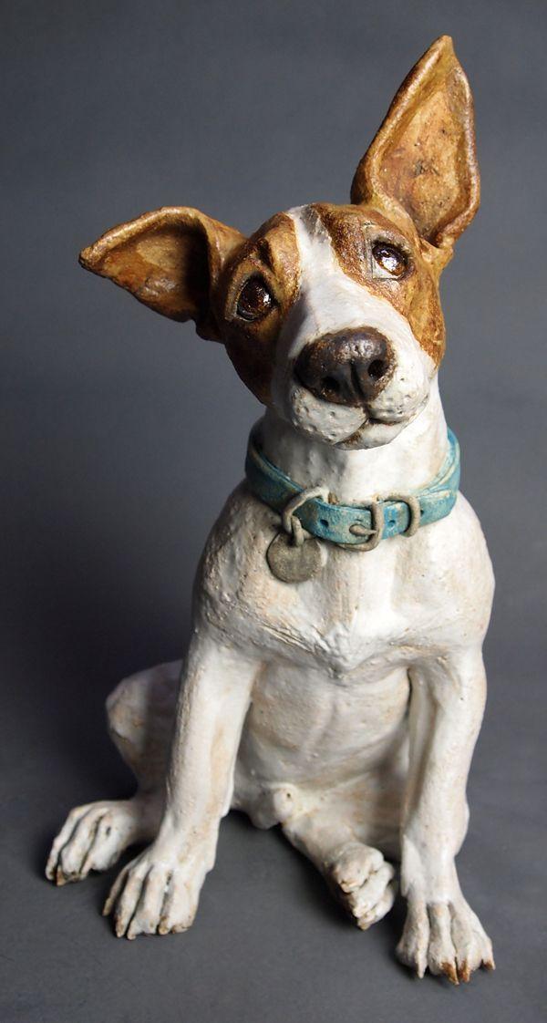 Biscuits You Say 2014 Joanne Cooke Paper Mache Animals Dog Sculpture Paper Mache Sculpture