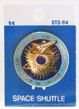 NASA STS-94 Shuttle Columbia MSL-1 Trading Collectible Lapel Pin - http://shopattonys.com/nasa-sts-94-shuttle-columbia-msl-1-trading-collectible-lapel-pin/