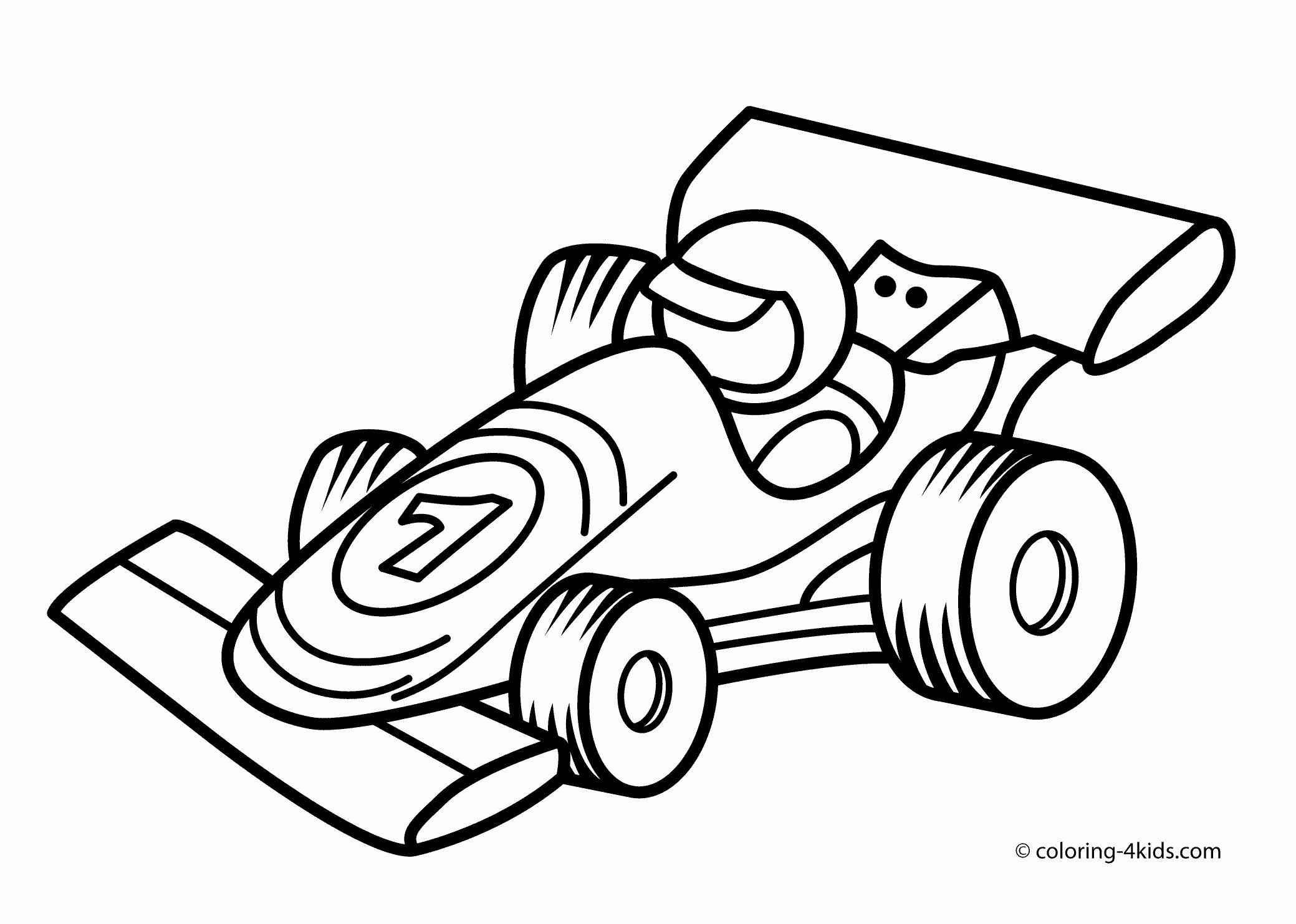Race Car Printable Coloring Pages Race Car Coloring Pages Cars Coloring Pages Coloring Pages For Boys