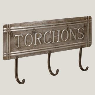 Accroche torchons style bistrot antic line accroche for Accroche torchon cuisine