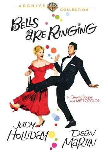 Bells Are Ringing DVD 1960   Dean martin, Judy holliday, Musical movies
