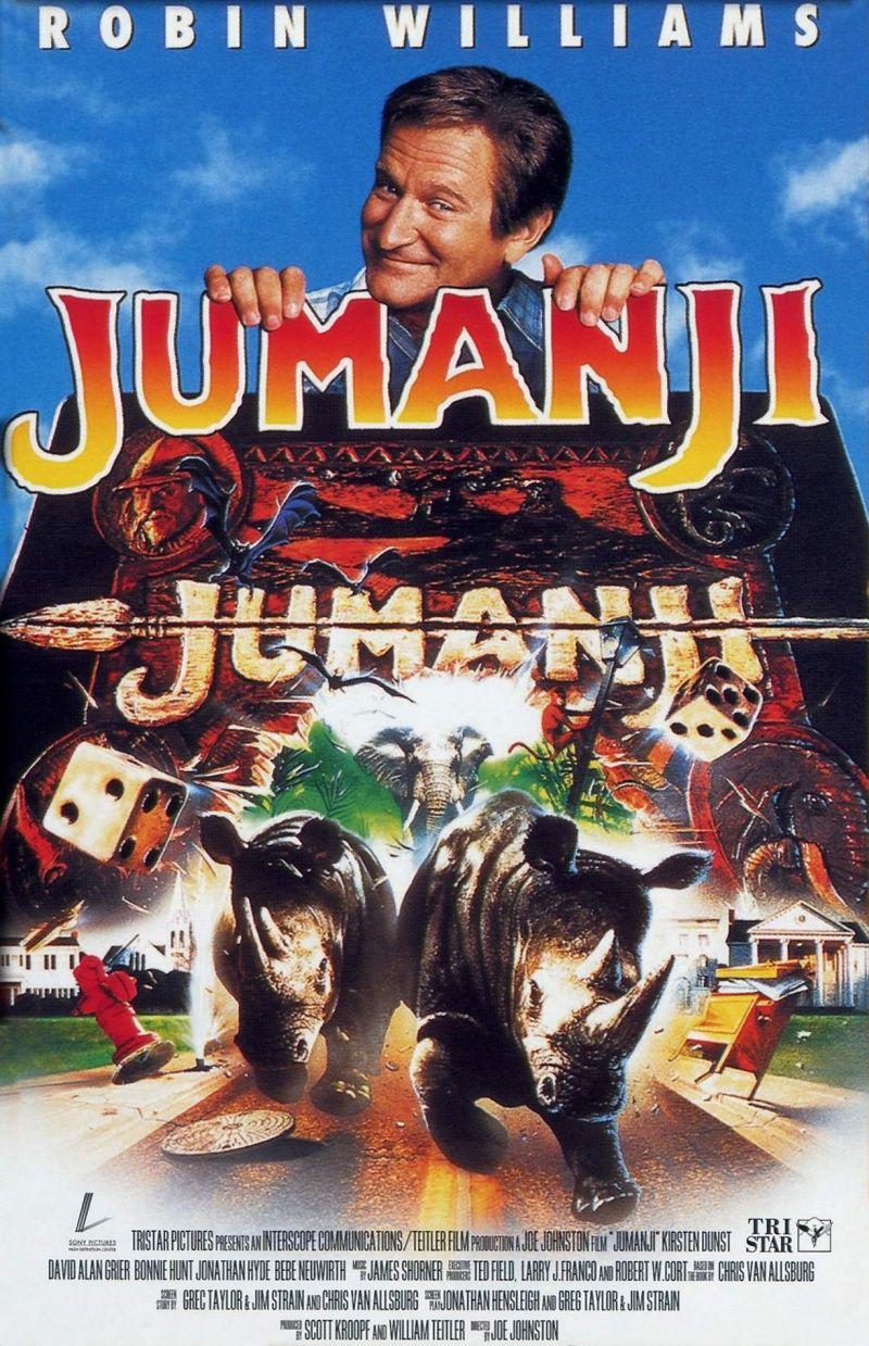 Jumanji (1995) When two siblings discover an enchanted board game ...