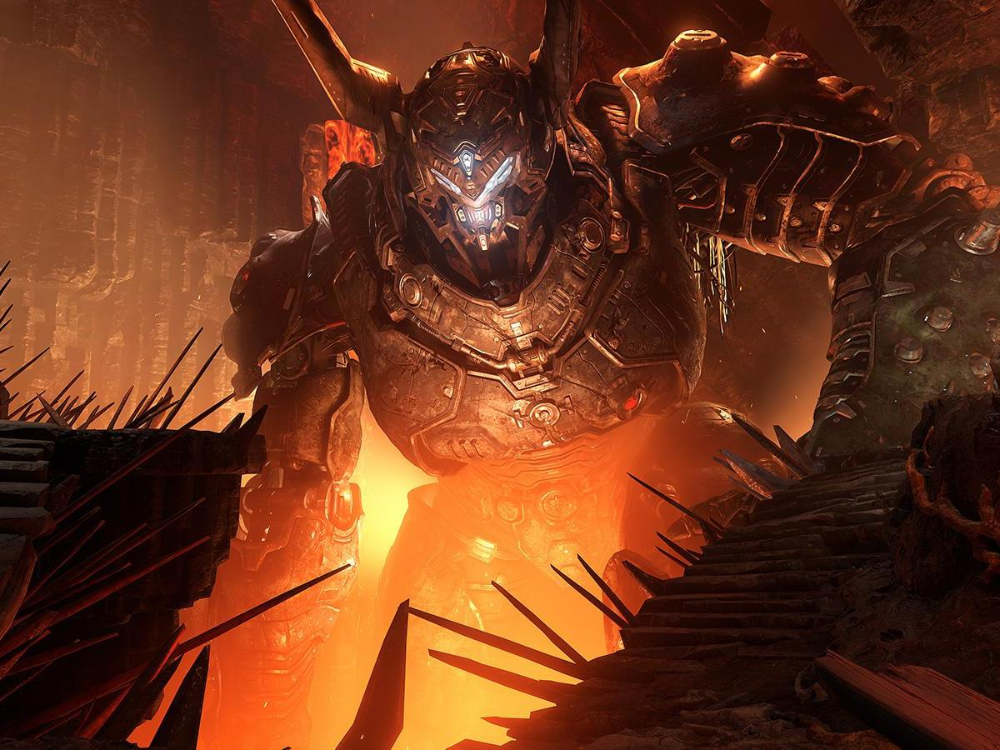 Doom Eternal Satan Google Search Doom Game Pass Play Doom
