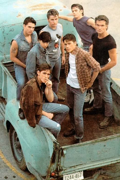 The Outsiders (1983)Many famous actors among them
