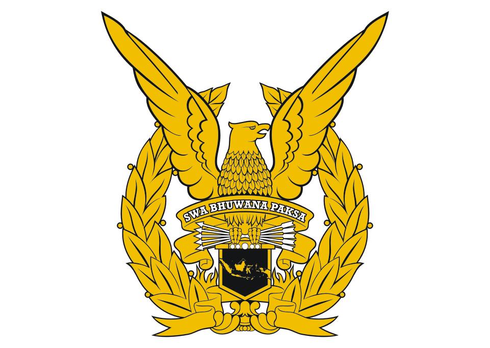 Logo TNI AU (Angkatan Udara) Vector | Militer, Desain