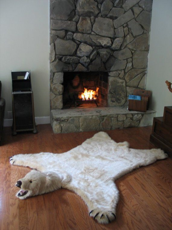 Come Lay By My Fire 3 3 3 Faux Bear Skin Rug Rugs Bear Rug