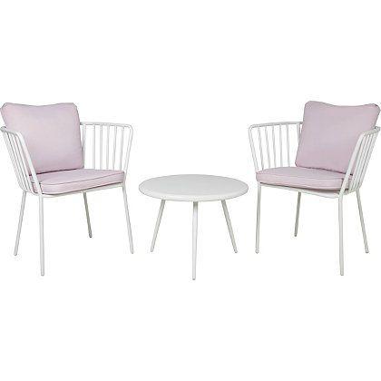 Impressions 3 Piece Bistro Set - Heather | Garden Furniture | George ...