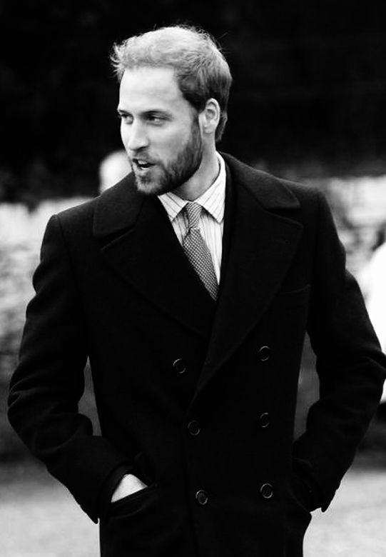 He looks good with a beard