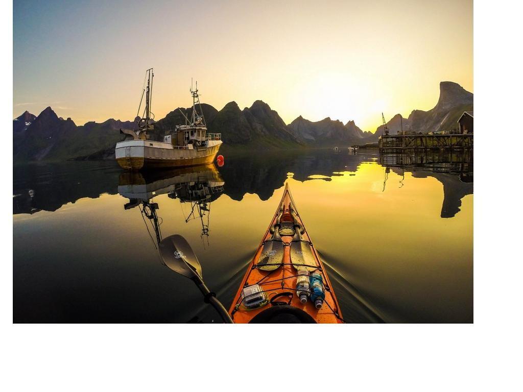 Norway through eyes of kayaker
