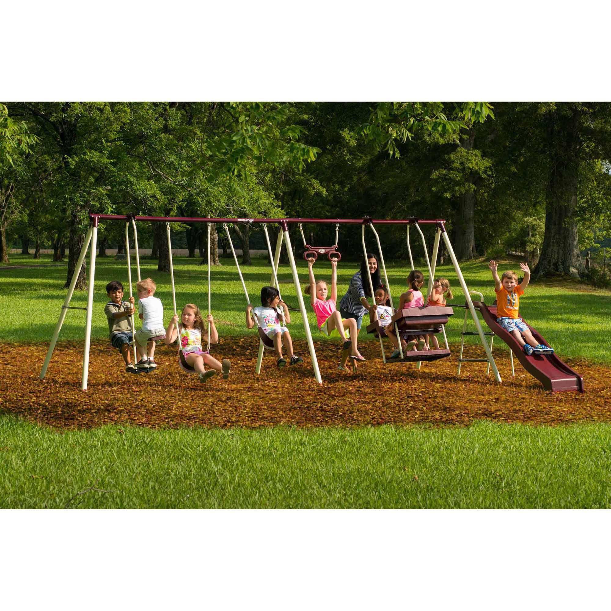 baby backyard point somerset cedar set swing wayfair wood reviews kids pdx discovery