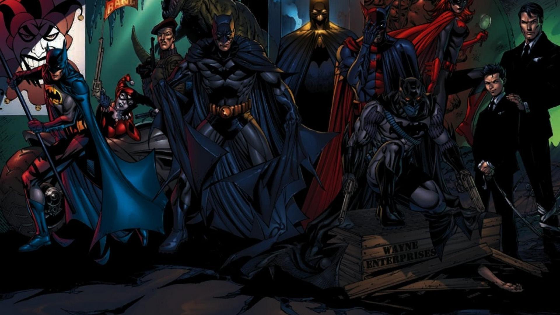 Batman Batwoman Dc Comics Harley Quinn The Joker Wallpaper