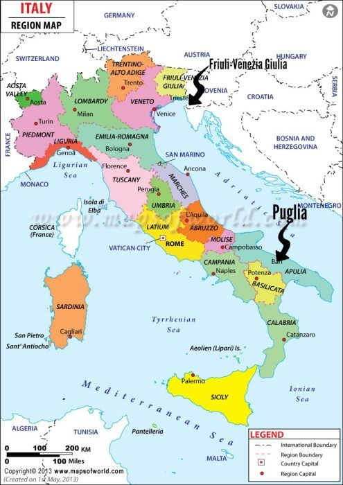Map Of Italy In Italian.Pugliese Bread An Italian Rustic Loaf