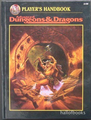 Dungeons Dragons Players Handbook Player S Handbook Advanced