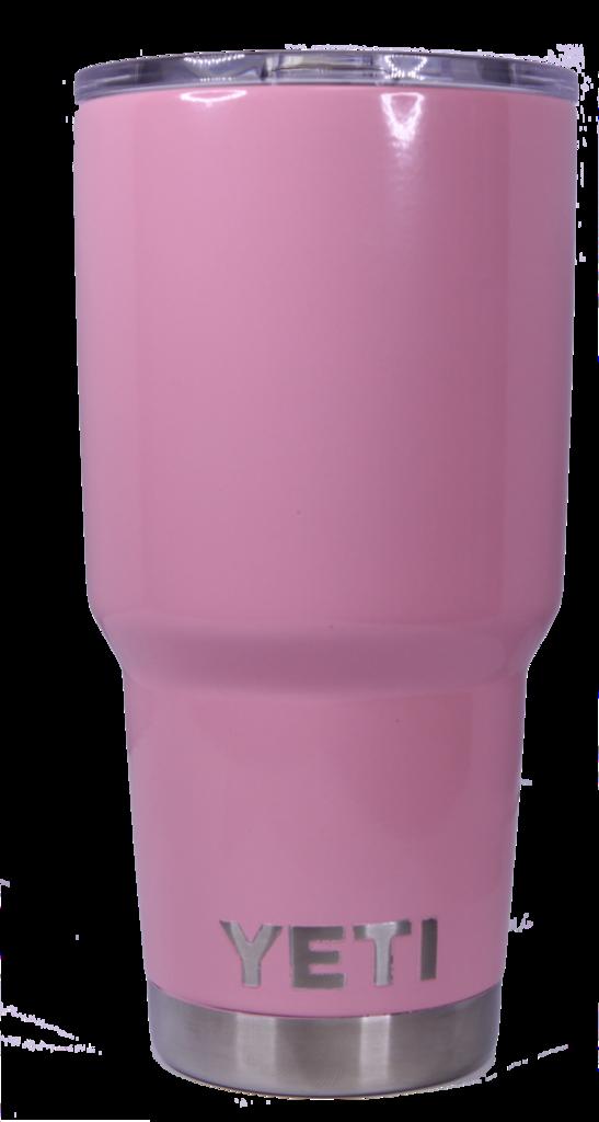 Light Pink Yeti Rambler Tumbler Cup Pink yeti, Pink yeti