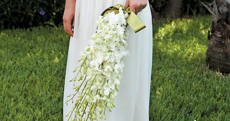 Ultimate Tropical White Dendrobium Orchid Bliss Bouquet...