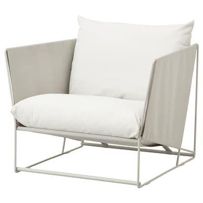Havsten Armchair In Outdoor Beige 38 5 8x37x35 3 8 En 2020