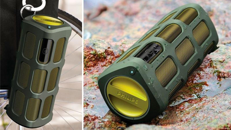 Image result for rugged bluetooth speaker
