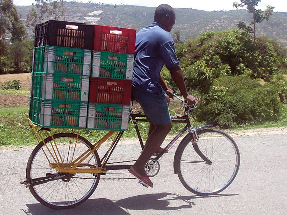 Big Boda With The Humble Crate S In Kenya Bicycle Bike Urban