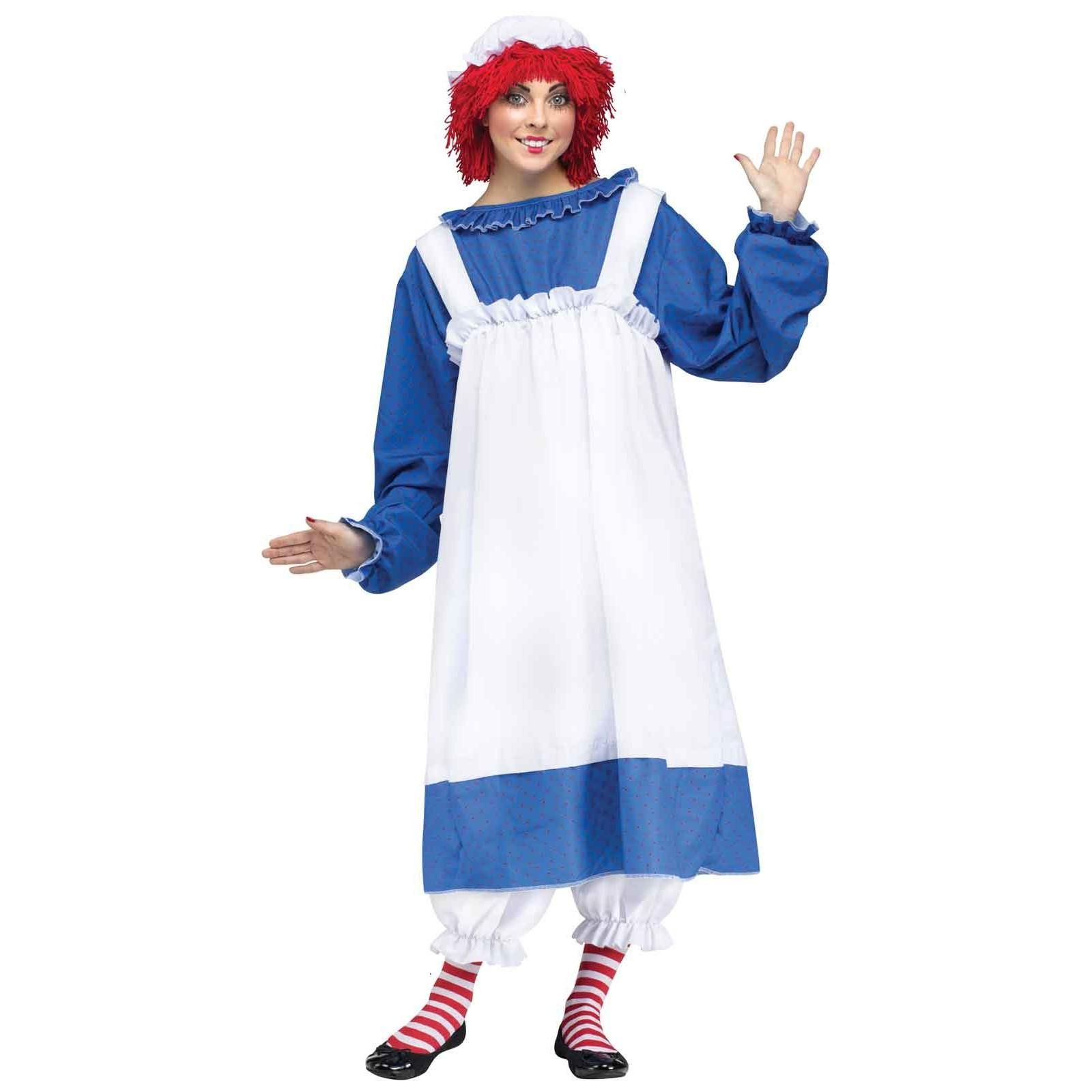 Raggedy Ann Adult Costume  sc 1 st  Pinterest & Raggedy Ann Adult Costume | costumes | Pinterest | Raggedy ann and ...