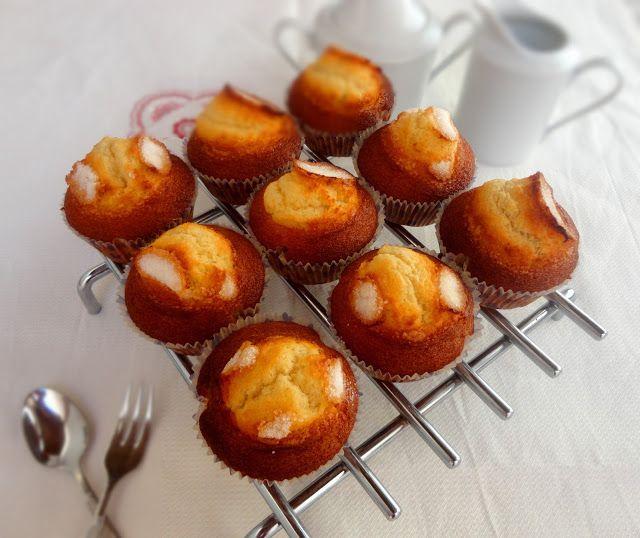 cocinaros: Las Mejores Magdalenas. Receta de Xavier Barriga.