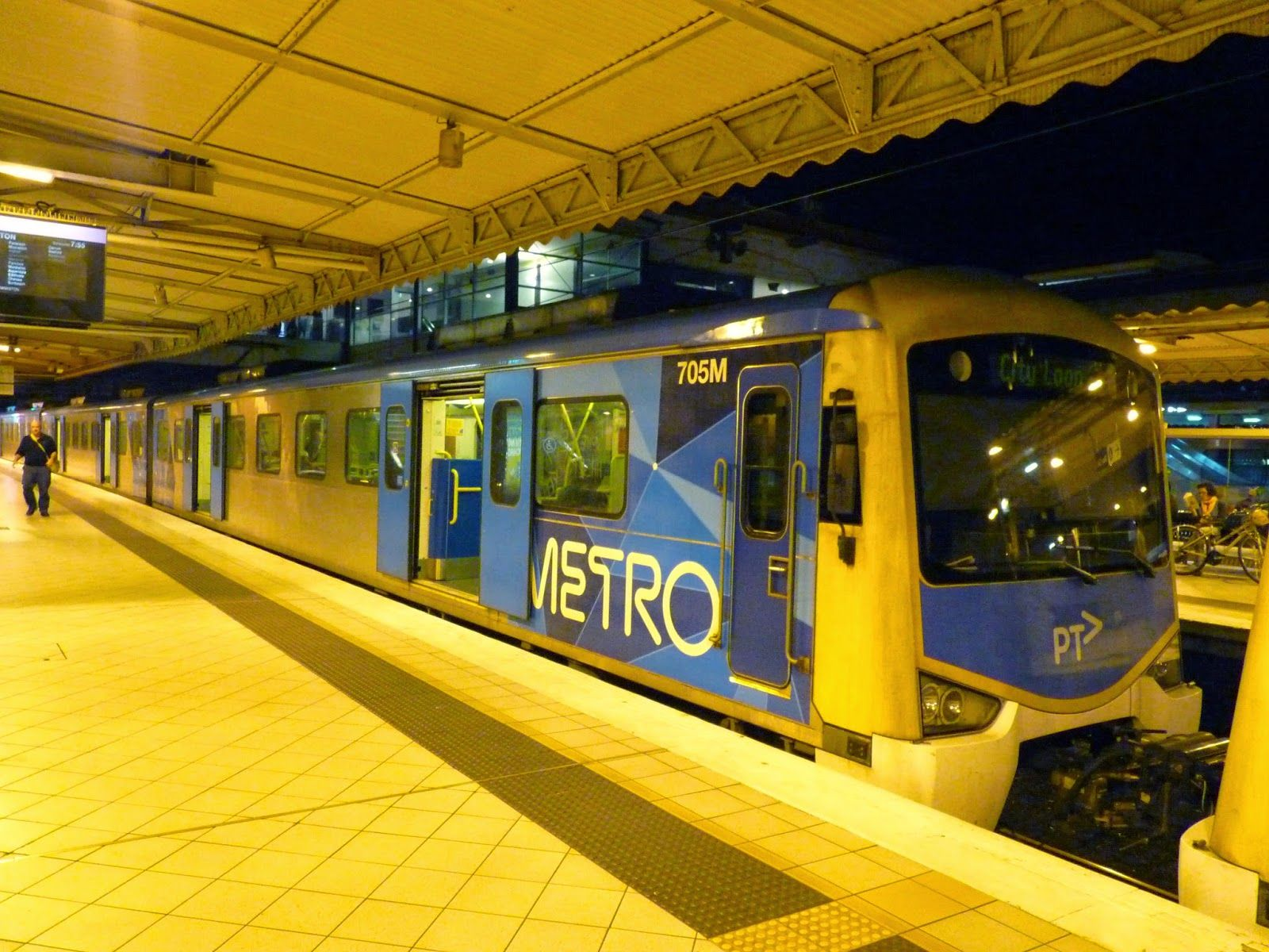 Metro Train Melbourne, Australia Interestingtrains.blogspot.com Epsilon's Train and Tram blog