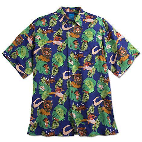 3dc251e0 Disney Moana Woven Aloha Shirt for Men by Reyn Spooner | Dream ...