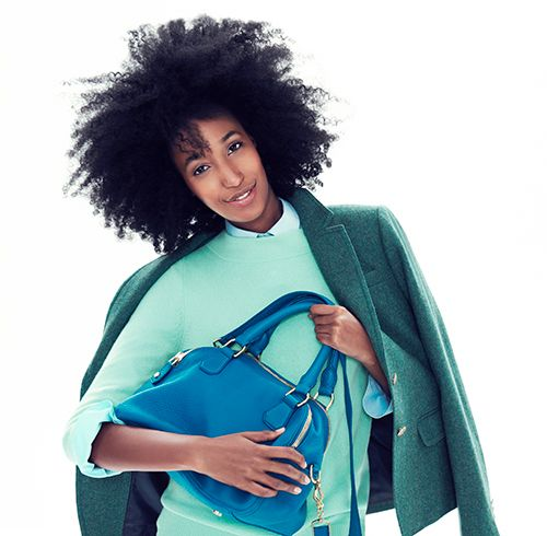 Julia Sarr Jamois For Jcrew 770 Behind The Line Le Coil