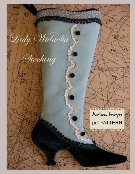 Victorian Stocking Pattern | Pinterest | Schnittmuster