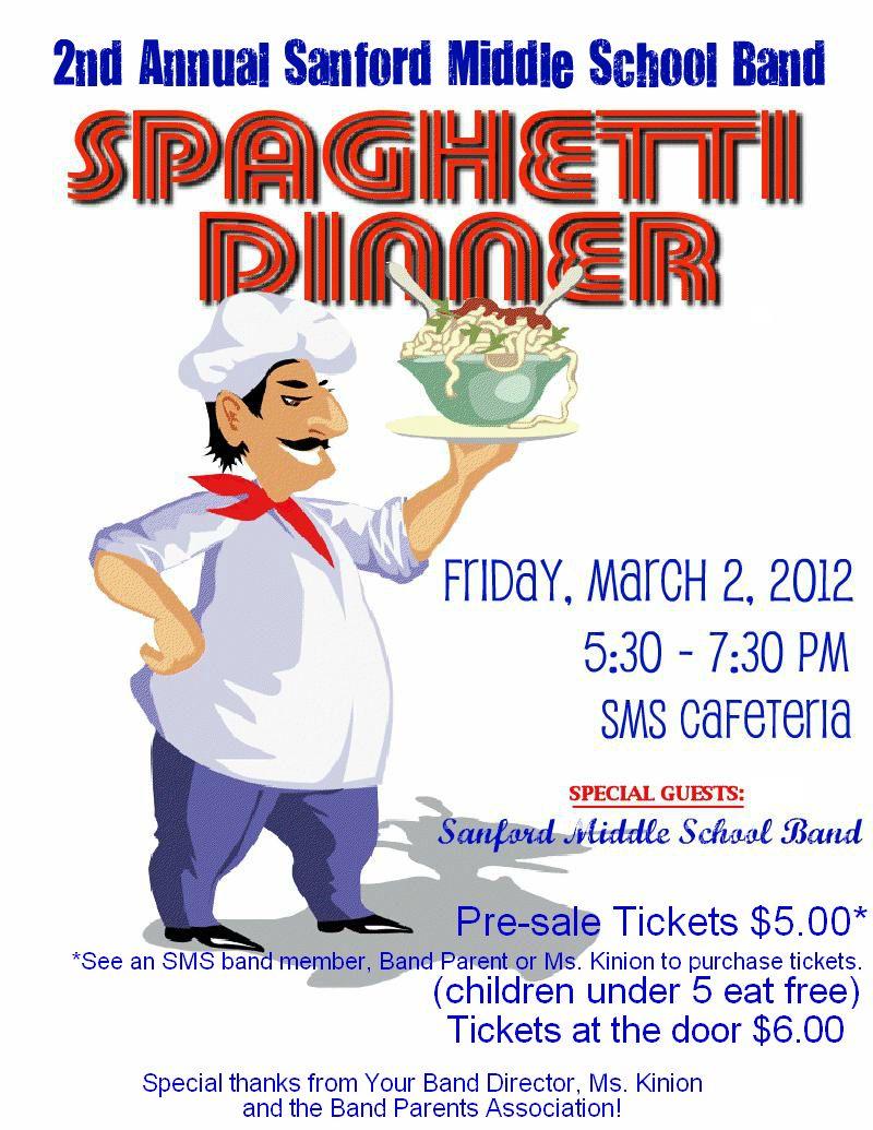 Spaghetti Dinner Flyer Poster Photos with Santa Fundraiser – Dinner Flyer