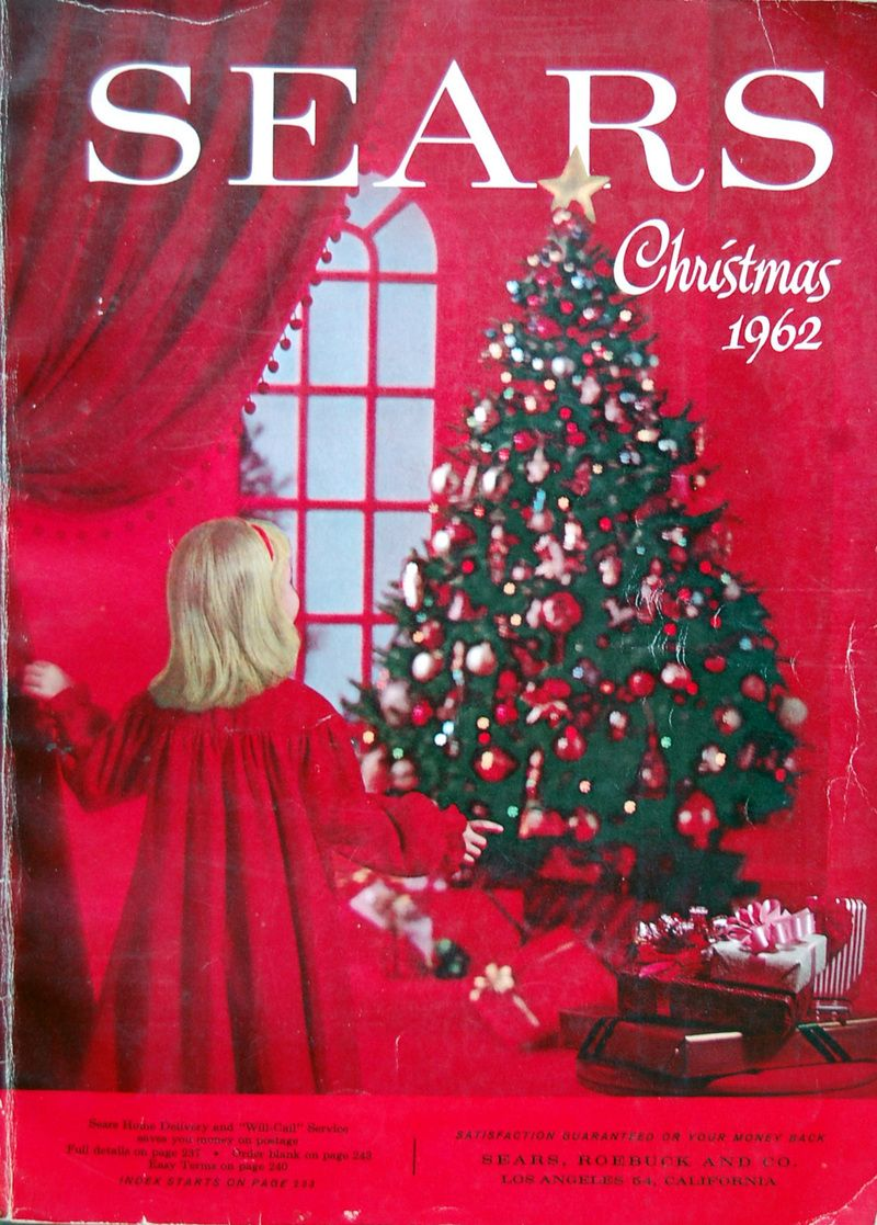 Christmas Catalogs.1962 Sears Christmas Catalogue Throwbacks Christmas