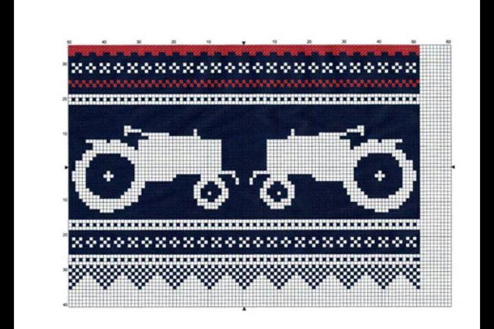 Traktor Marius Knitting Charts Pinterest Knitting