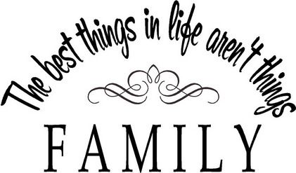 Family Love Quotes And Sayings Pictures For Living Room Wall